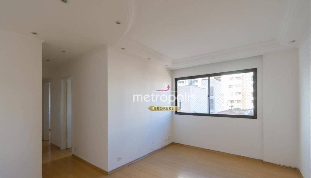 Apartamento com 3 dormitórios para alugar, 96 m² por R$ 1.600/mês - Santa Paula - São Caetano do Sul/SP