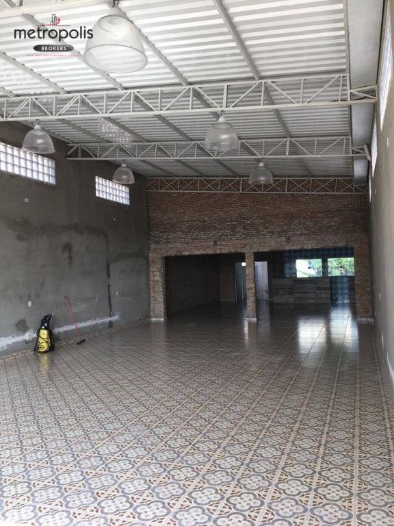 Salão comercial para locação, Campestre, Santo André.