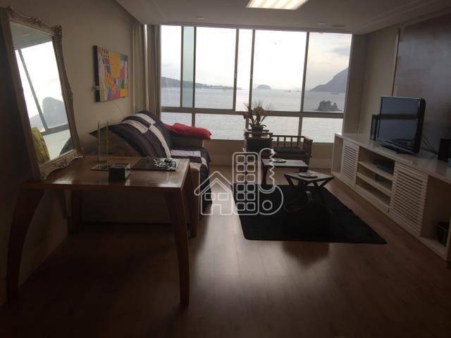 Apartamento com 4 dormitórios para alugar, 180 m² por R$ 5.000,00/mês - Ingá - Niterói/RJ