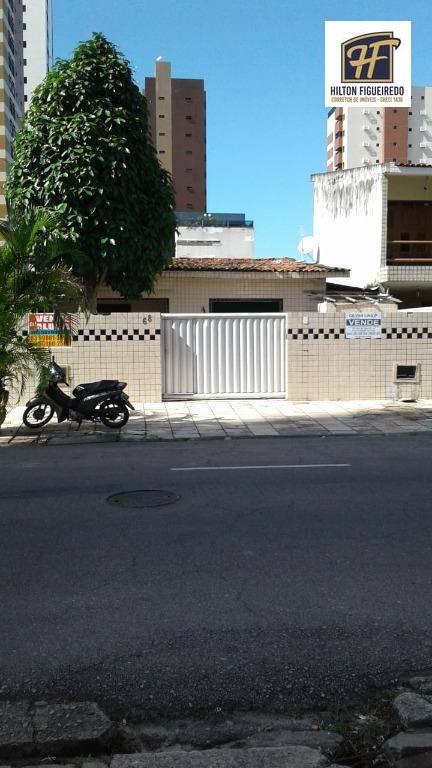 Casa com 4 dormitórios à venda, 408 m² por R$ 1.200.000,00 - Manaíra - João Pessoa/PB