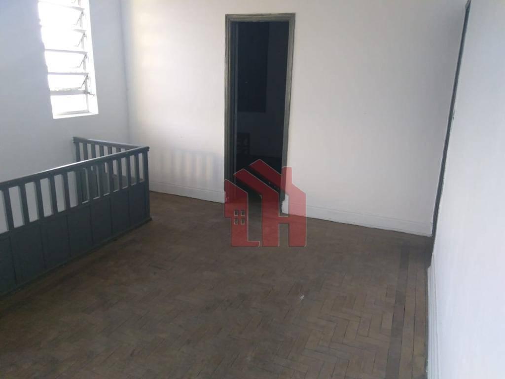 Casa com 4 dormitórios para alugar, 100 m² por R$ 1.800,00/mês - Macuco - Santos/SP
