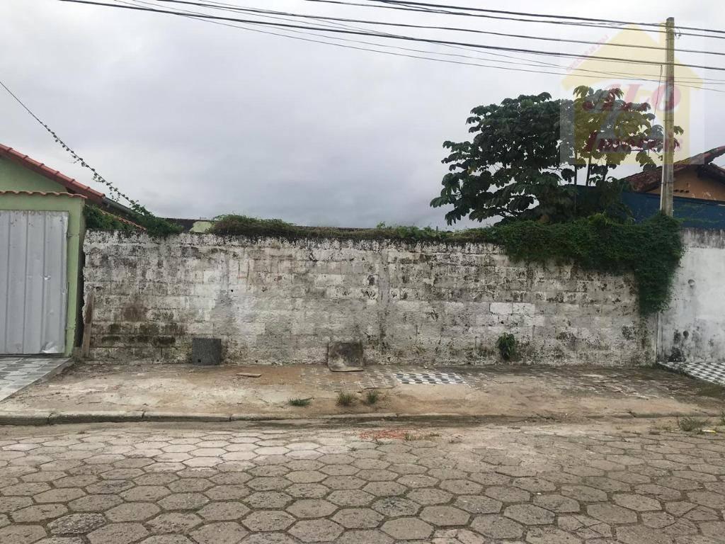 Terreno à venda, 250 m² por R$ 240.000 - Balneário Maracanã - Praia Grande/SP