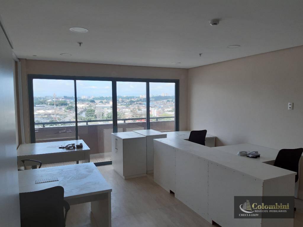 Sala para alugar, 52 m² - Cerâmica - São Caetano do Sul/SP
