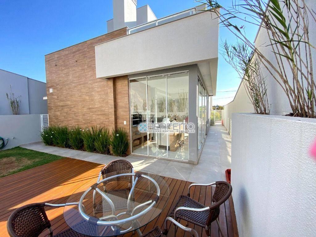 Lindo Sobrado no Parque Tauá Aranguá com 3 dormitórios à venda, 180 m² por R$ 1.100.000 - Jardim Morumbi - Londrina/PR