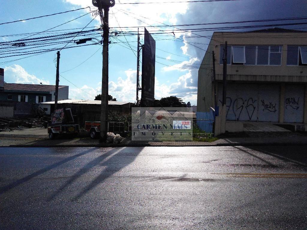 Terreno residencial à venda, Guabirotuba, Curitiba.