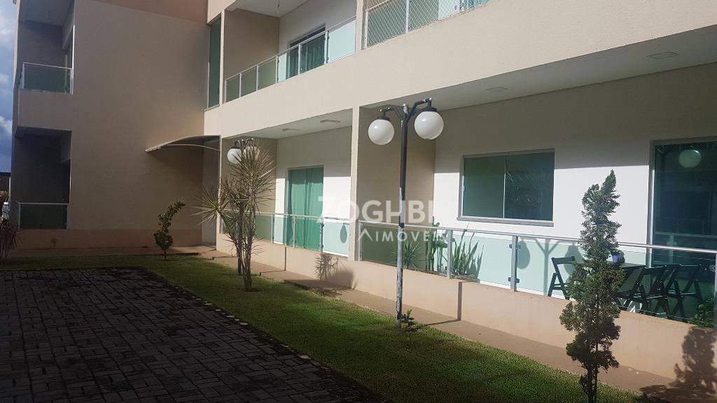 Apartamento com 2 dormitórios para alugar, 94 m² Lagoa - Porto Velho/RO