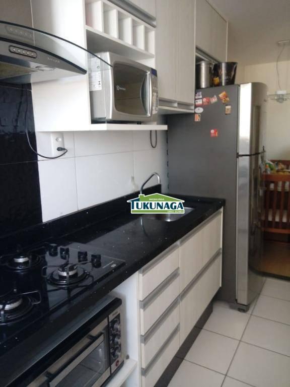 Apartamento com 2 dormitórios à venda, 53 m² por R$ 330.000 - Vila Augusta - Guarulhos/SP