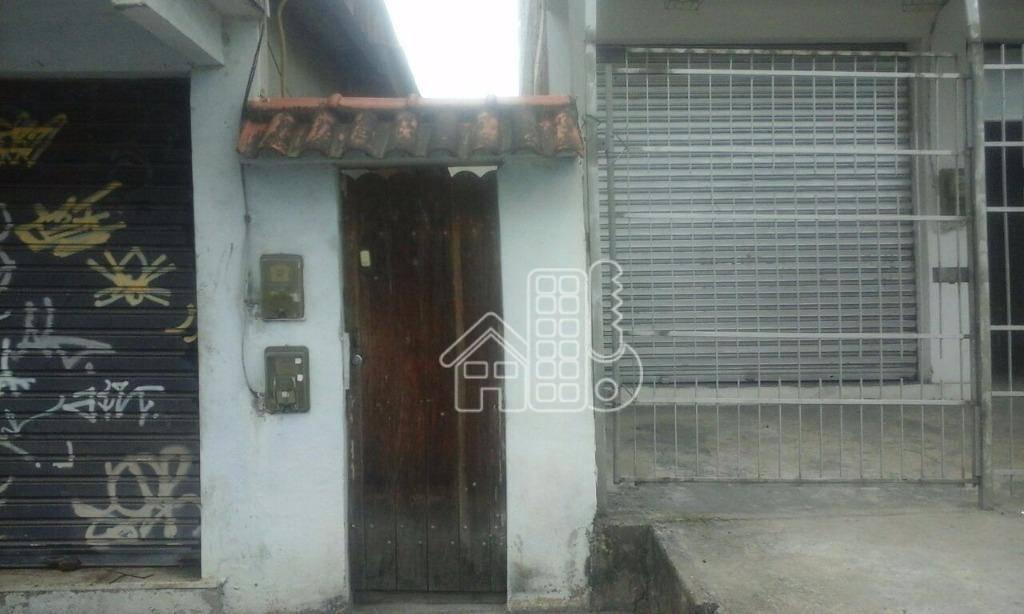 Casa comercial à venda, Colubande, São Gonçalo.