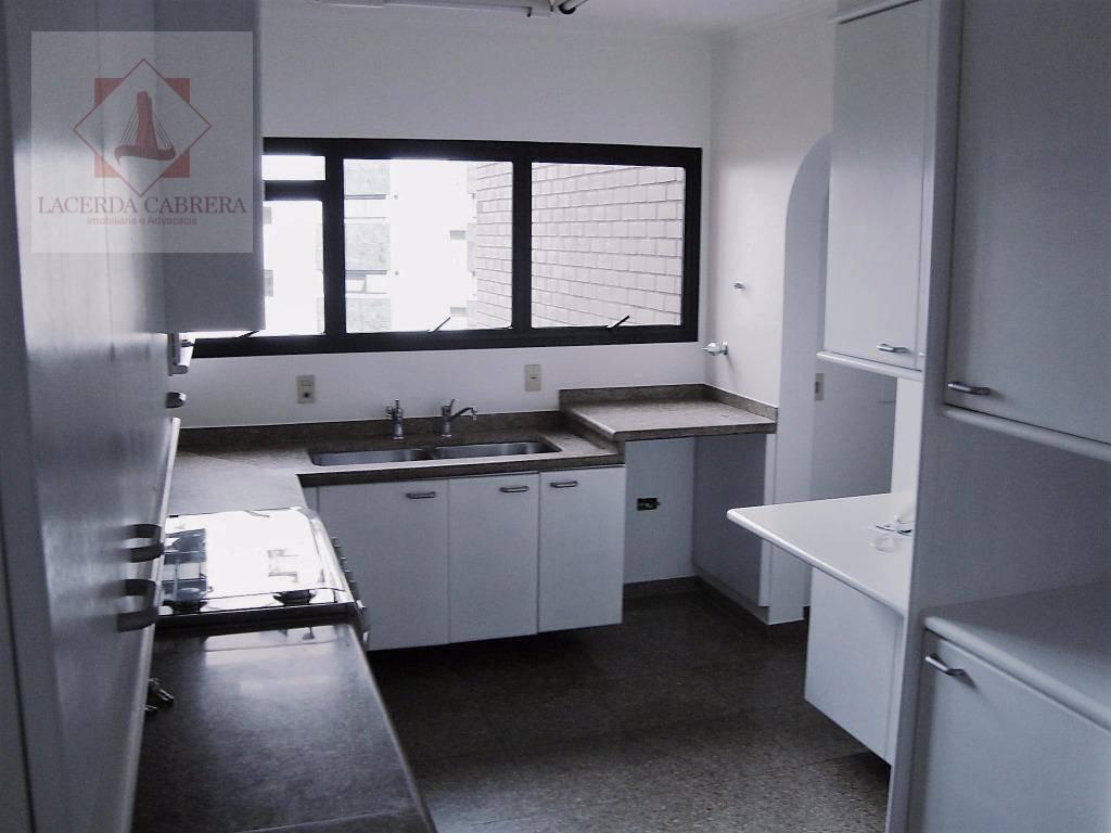 apartamento para venda de alto padrão com 339m² de área útil, amplo living com varanda com...