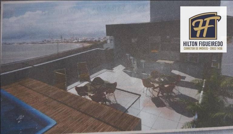Apartamento com 2 dormitórios à venda, 77 m² por R$ 235.000 - Bessa - João Pessoa/PB