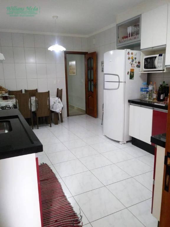 Sobrado com 3 suítes à venda- Parque Renato Maia - Guarulhos/SP