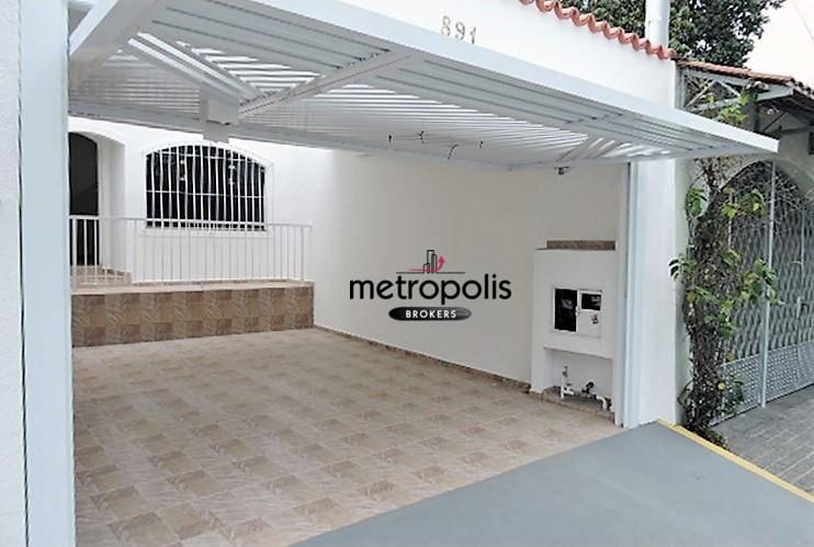 Sobrado residencial para locação, Osvaldo Cruz, São Caetano do Sul.