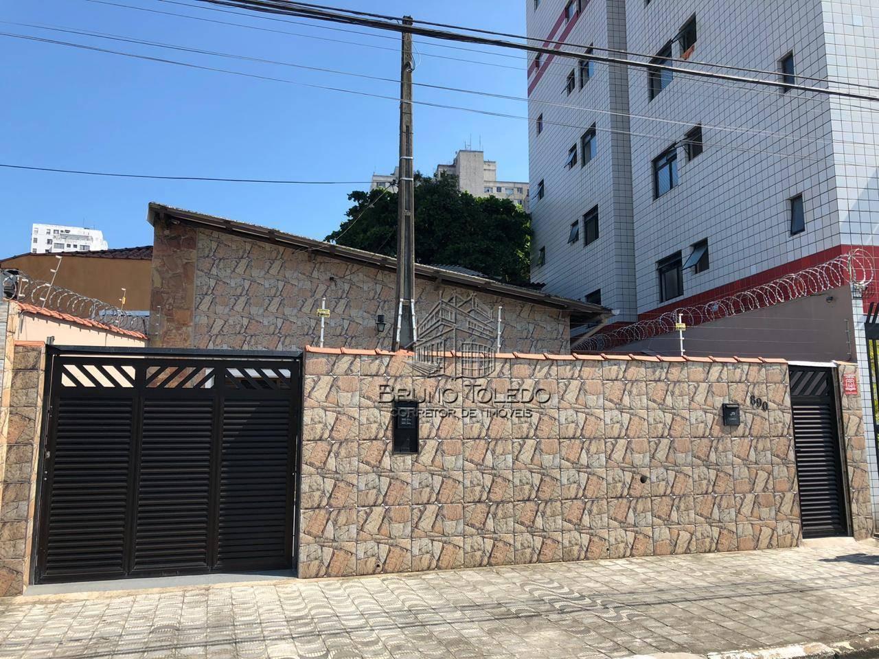Casa com 2 dormitórios à venda, Centro - São Vicente/SP
