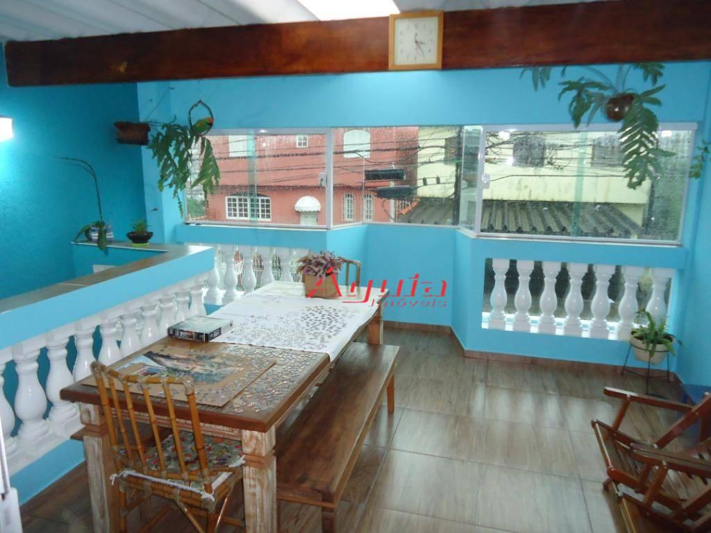 Casa com 2 dormitórios à venda, 147 m² por R$ 450.000 - Jardim Ana Maria - Santo André/SP