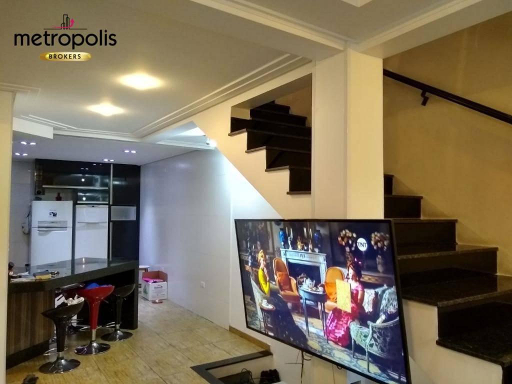 Sobrado com 3 dormitórios à venda, 250 m² por R$ 970.000 - Santa Paula - São Caetano do Sul/SP