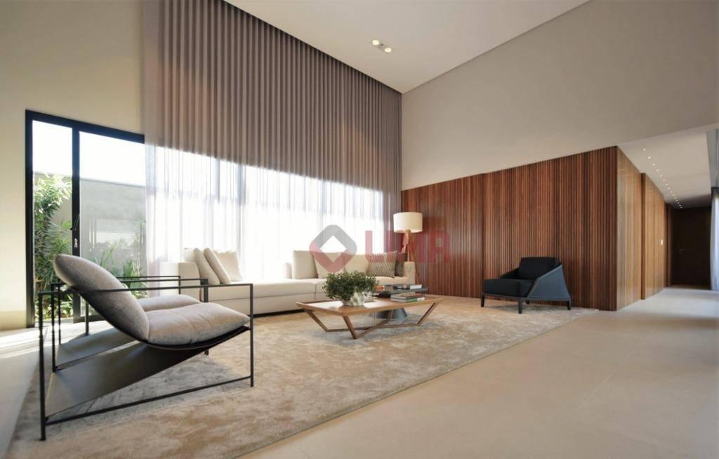 belíssima residência de alto padrão no villa dumont fase ii. construída com materiais de alta qualidade,...