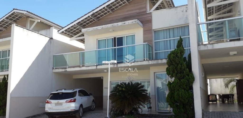 Casa duplex com 4 quartos à venda, 263 m²,  3 suítes, 4 vagas - José de Alencar - Fortaleza/CE