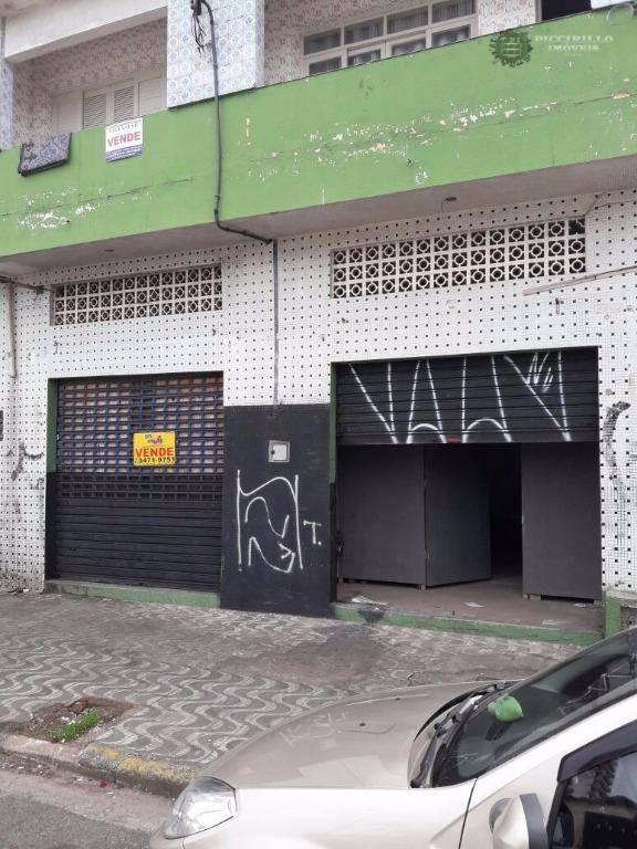 Loja comercial à venda, Caiçara, Praia Grande.