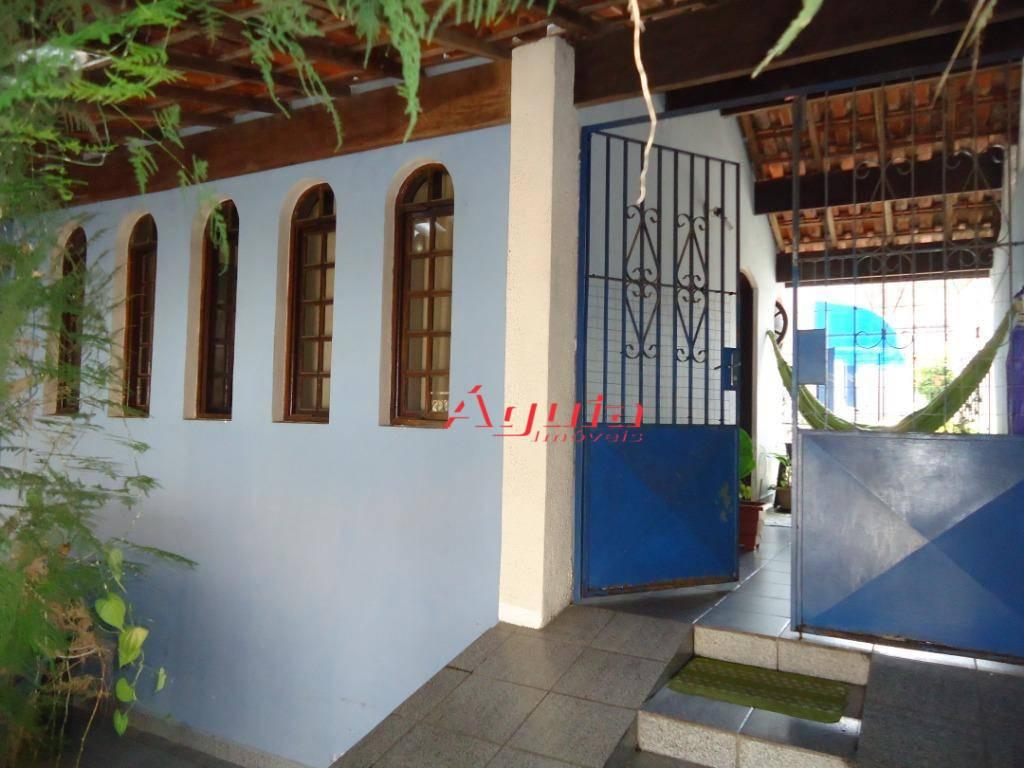 Sobrado com 3 dormitórios à venda, 205 m² por R$ 495.000 - Parque Marajoara - Santo André/SP