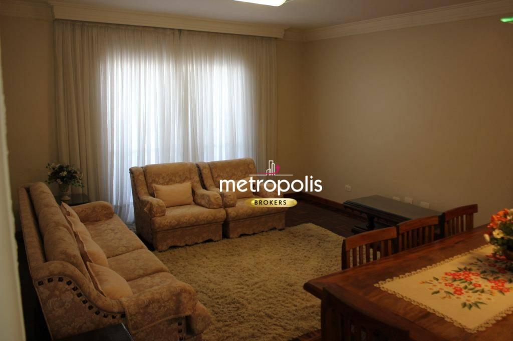 Apartamento com 2 dormitórios para alugar, 113 m² por R$ 1.500/mês - Centro - São Caetano do Sul/SP