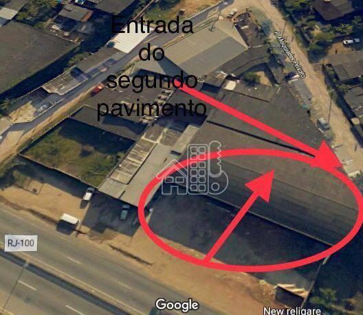 Galpão para alugar, 2000 m² por R$ 13.000,00/mês - Santa Bárbara - Niterói/RJ