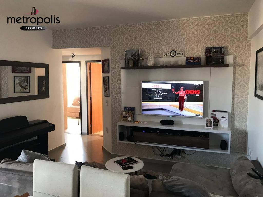 Apartamento para alugar, 100 m² por R$ 2.650,00/mês - Vila Valparaíso - Santo André/SP