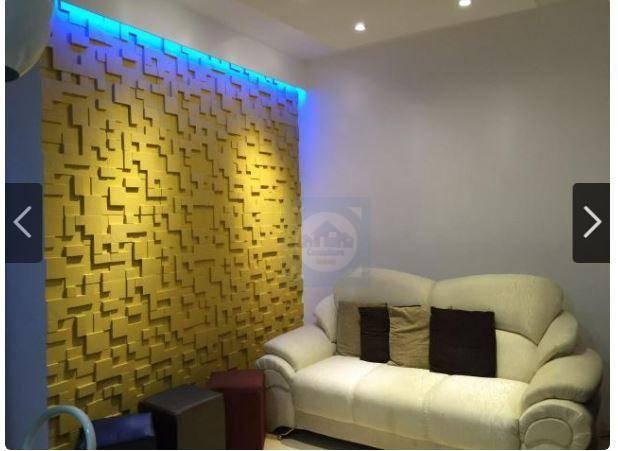 Flat com 1 dormitório à venda, 30 m² por R$ 138.000 - Centro - São Vicente/SP