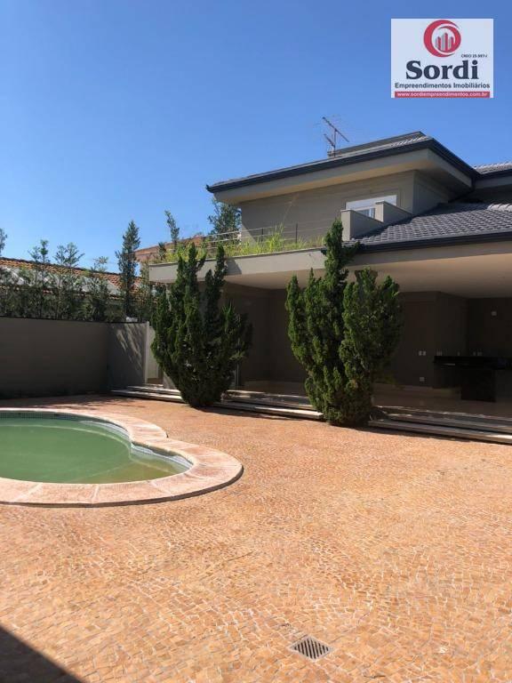 Sobrado à venda, 567 m² por R$ 4.000.000,00 - Condomínio Guaporé - Ribeirão Preto/SP