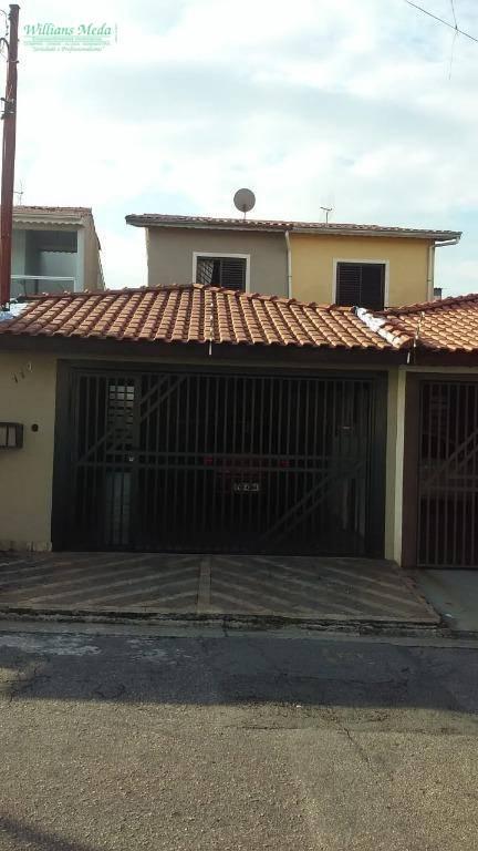 Sobrado com 3 dormitórios à venda por R$ 640.000 - Vila Flórida - Guarulhos/SP