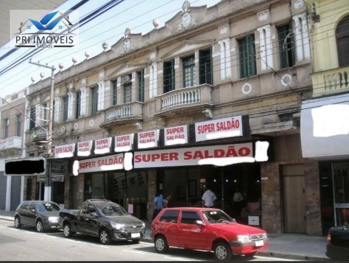 Loja comercial à venda, Centro, Santos.