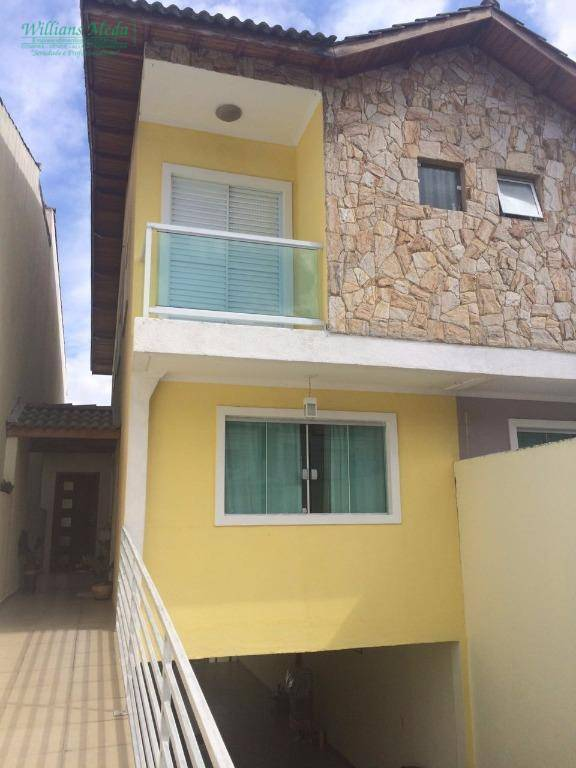 Sobrado com 3 dormitórios à venda, 300 m² por R$ 650.000 e  locação R$ 2.500,00 - Jardim Vila Galvão - Guarulhos/SP