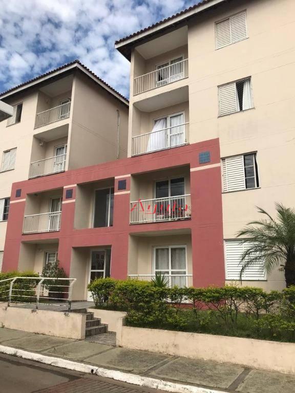 Apartamento com 3 dormitórios à venda, 60 m² por R$ 318.000 - Utinga - Santo André/SP