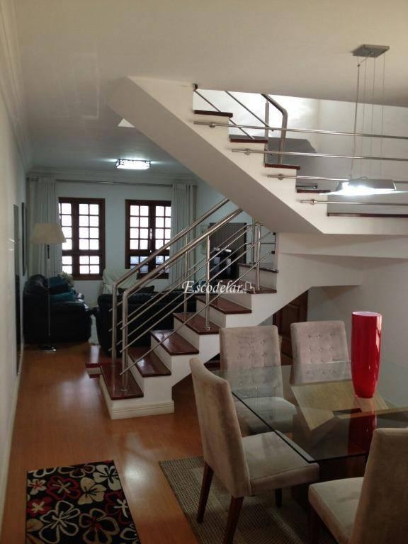 Sobrado residencial à venda, Jardim Santa Mena, Guarulhos.