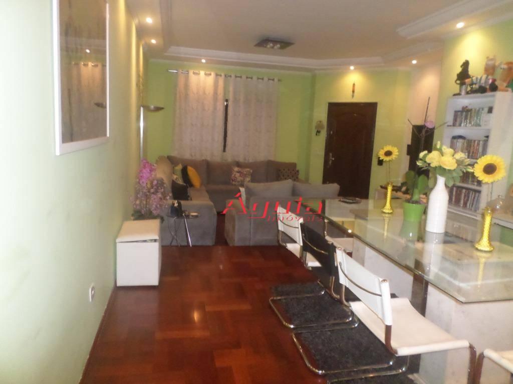 Sobrado com 3 dormitórios à venda, 241 m² por R$ 1.250.000 - Vila Curuçá - Santo André/SP