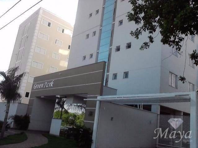 Apartamento 3 Quartos, 87 m², mobiliado na 308 Sul - Residencial Green Park