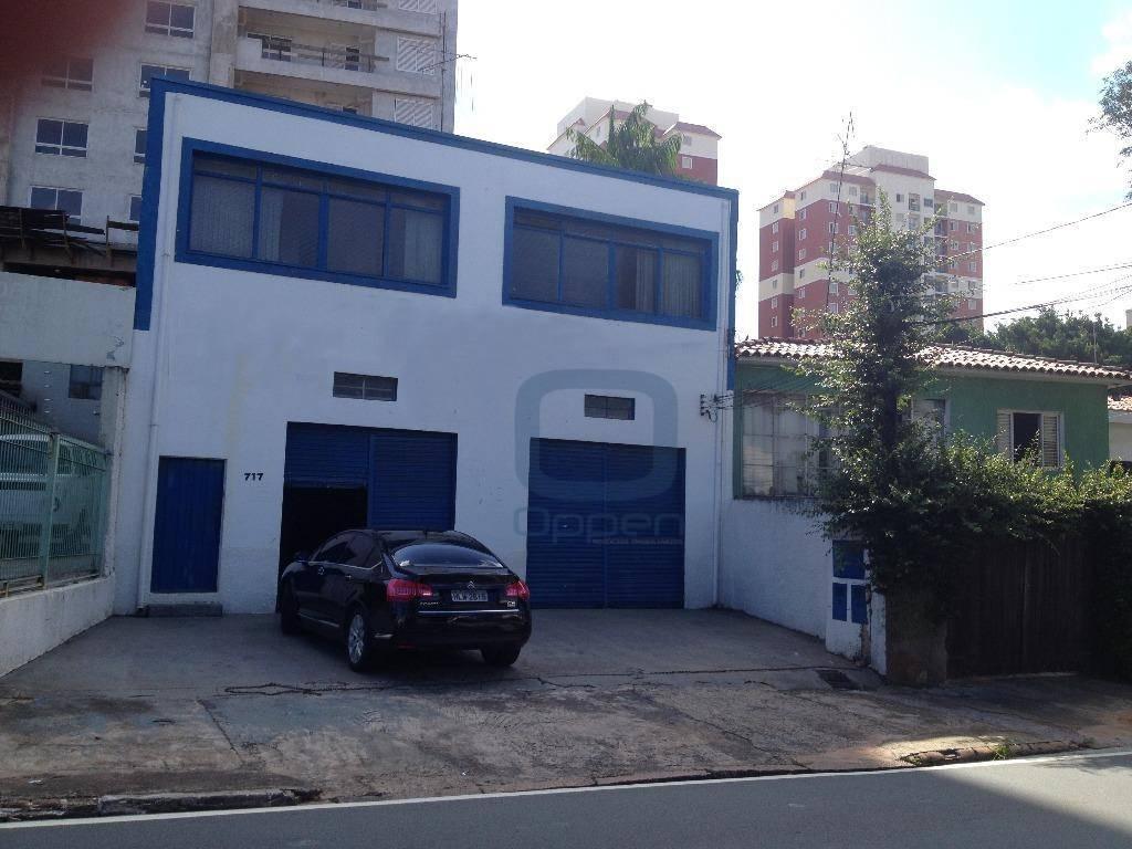 Barracão  comercial à venda, Vila Nova, Campinas.