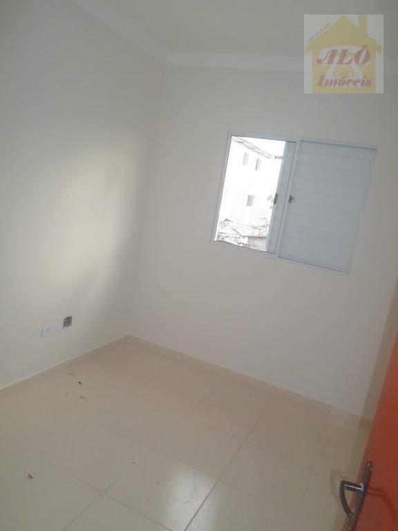 Casa com 2 dormitórios à venda, 52 m² por R$ 180.000 - Tude Bastos (Sítio do Campo) - Praia Grande/SP