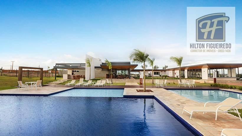 Terreno à venda, 442 m² por R$ 157.721 - Cond. Alphaville Paraiba - Bayeux/PB