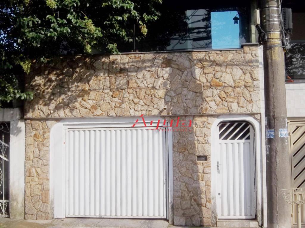 Casa com 2 dormitórios à venda por R$ 330.000 - Parque Novo Oratório - Santo André/SP