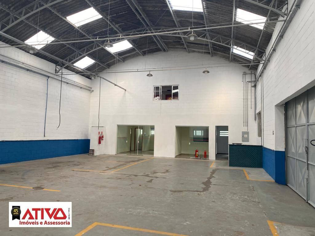 Galpão para alugar, 580 m² por R$ 9.500,00/mês - Paulicéia - São Bernardo do Campo/SP
