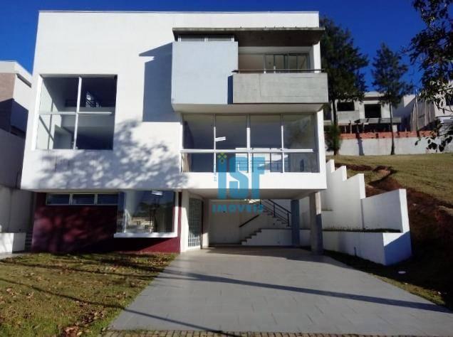 Sobrado com 4 dormitórios à venda, 347 m² por R$ 2.100.000 - Alphaville - Santana de Parnaíba/SP - SO5602.
