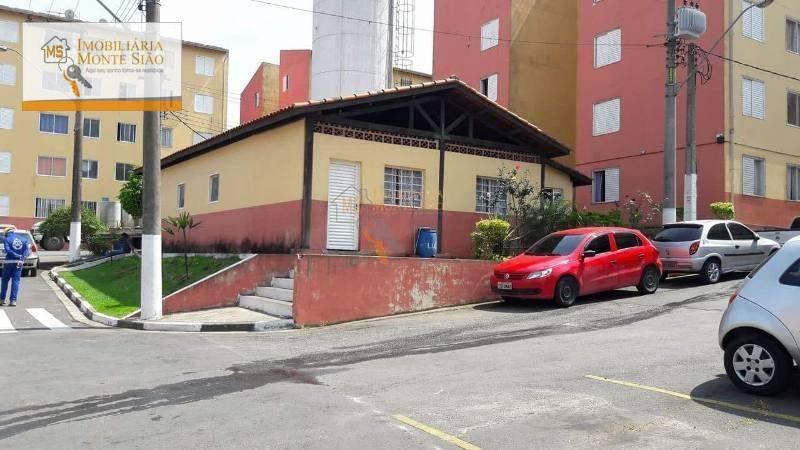 Apartamento Residencial para venda e locação, Cidade Parque Brasília, Guarulhos - .