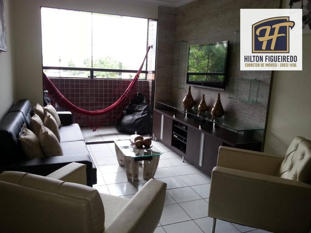 Apartamento residencial à venda, Jardim São Paulo, João Pessoa.