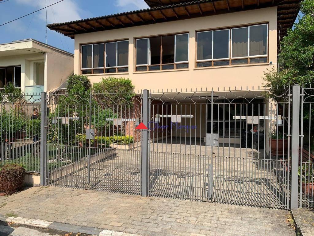 Casa com 4 dormitórios para alugar, 250 m² por R$ 3.900,00/mês - Continental - Osasco/SP