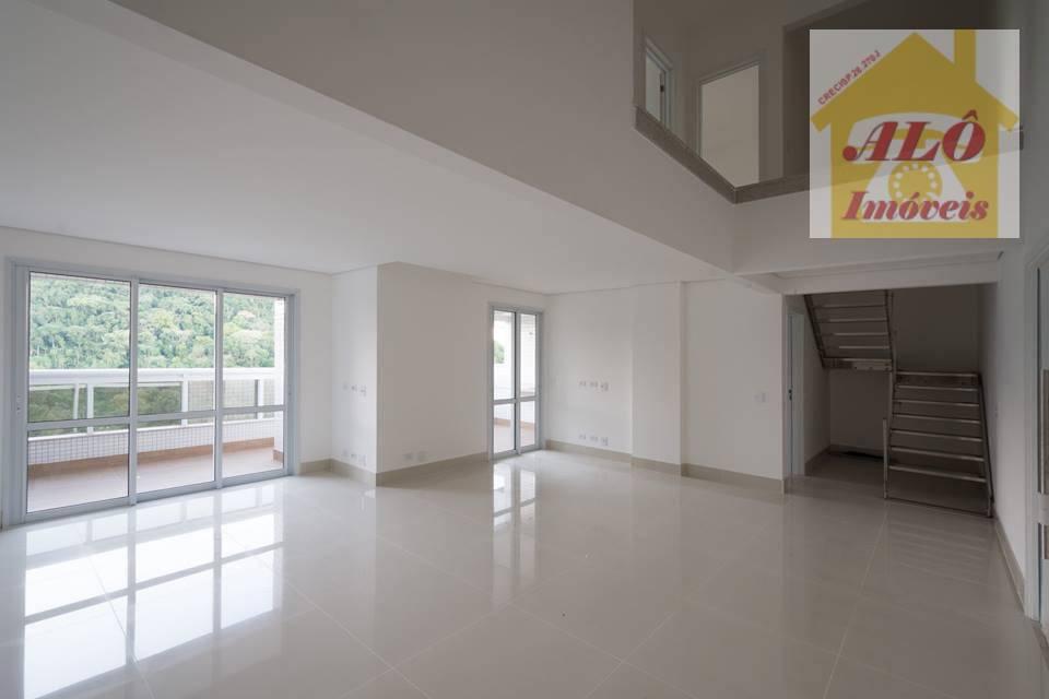 Apartamento Duplex residencial à venda, Canto do Forte, Praia Grande.