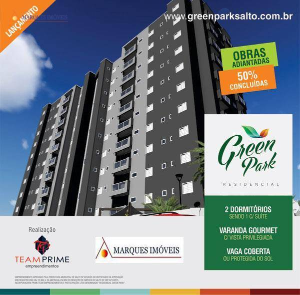 Apartamento residencial à venda, Jardim Nair Maria, Salto - AP3178.