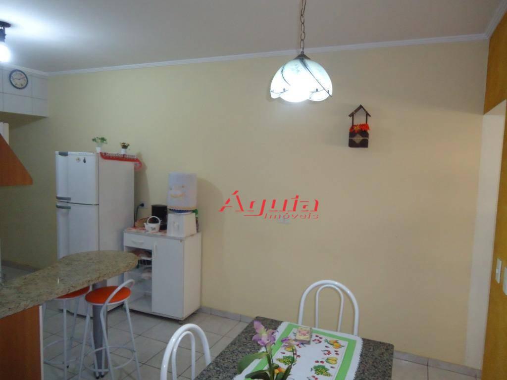 Casa com 2 dormitórios à venda, 94 m² por R$ 350.000,00 - Parque Erasmo Assunção - Santo André/SP