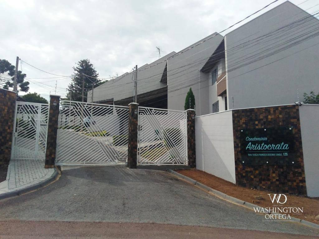 Sobrado com 3 dormitórios à venda, 89 m² por R$ 365.000 - Ar