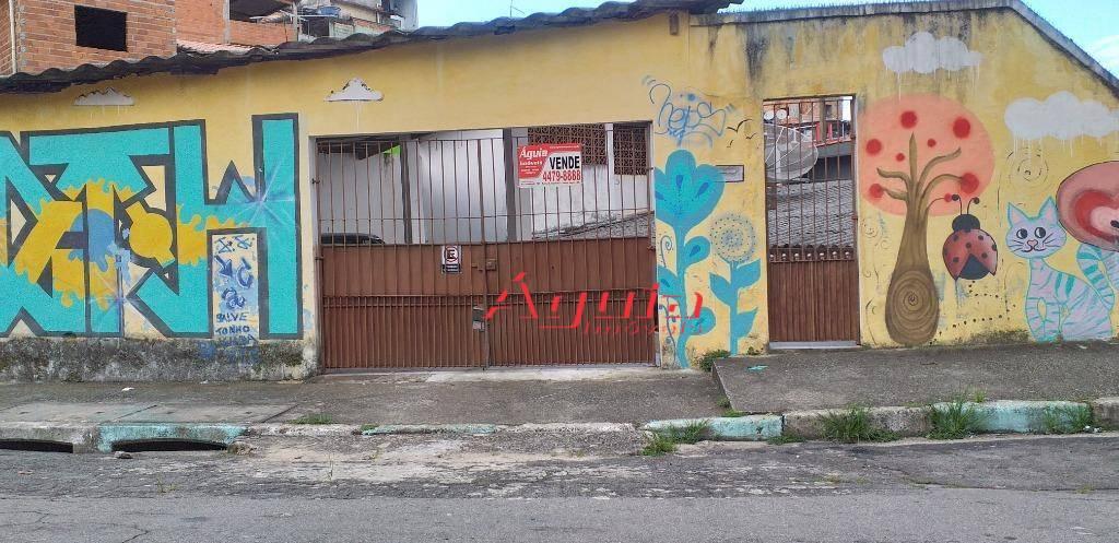 Casa à venda, 196 m² por R$ 290.000,00 - Parque João Ramalho - Santo André/SP