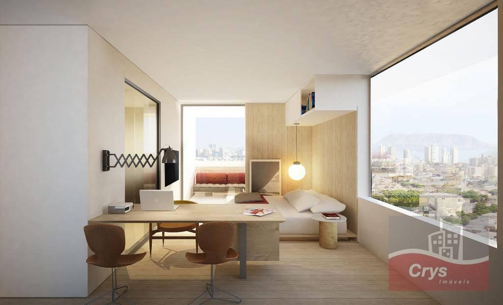 Apartamento com 1 dormitório à venda, 30 m² por R$ 558.000 - Itaim Bibi - São Paulo/SP